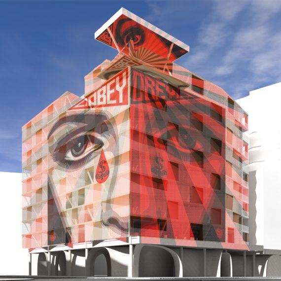facade immeuble obey